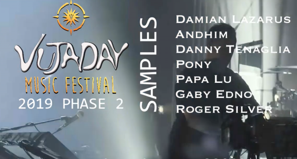 vujaday2019 new artists samples